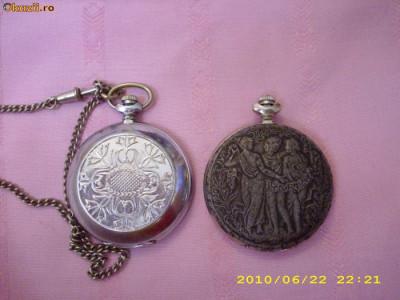 Ceas de buzunar Molnija foto