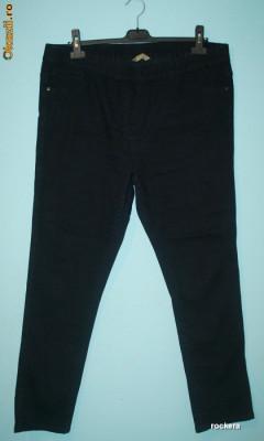 Blugi lungi marimea 50 - 52 - 54 - 56, negri, elastici, skinny, pana FRUMOSI / blugi elastici marime mare / blugi pentru cizme foto