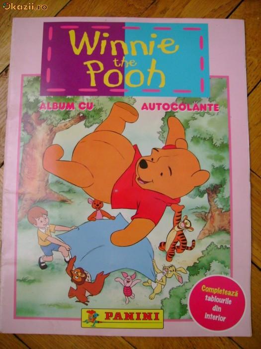 Album Panini colectie abtibilduri autocolante Winnie the Pooh foto mare