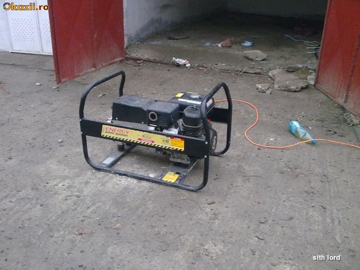 Generator 6,5kw,380v,220v,aparat sudura foto mare