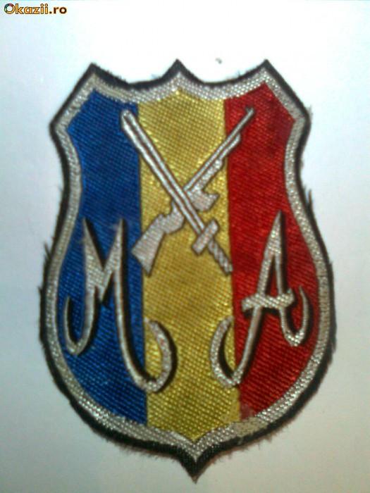 emblema militar (sergent) angajat 1992 foto mare
