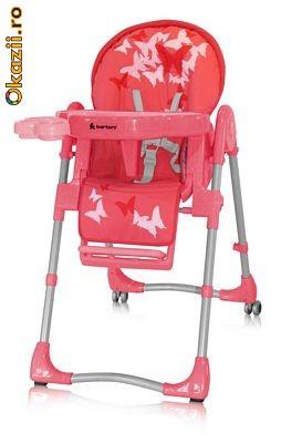 удобный, мягкий и безопасный детский стульчик для кормления и игр; -три положения наклона спинки: сидя, полусидя...