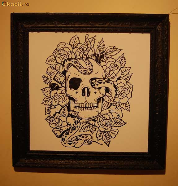 In Creion Schite Flori Desene Cu Inimioare