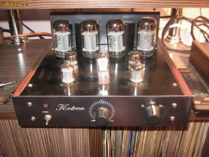 amplificator pe lampi/tuburi foto mare