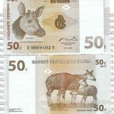 Bnk bn congo 50 centime 1997 unc