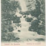Carti Postale Romania pana la 1904, Necirculata, Printata - CFL 1902 Ilustrata Busteni - Cascada Urlatoarea