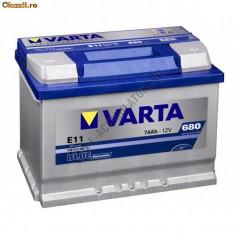 Baterie auto Varta 74Ah noua garantie 2 ani cod e11
