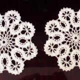 Mileu / Dantela - set 2 bucati - tesatura textila