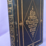 GESANGBUCH/CARTE VECHE DE IMNURI RELIGIOASE IN LIMBA GERMANA/SIBIU,1924