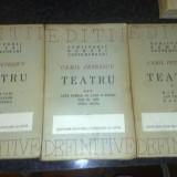 Camil Petrescu - Teatru - 1946 - 3 volume - Carte Editie princeps