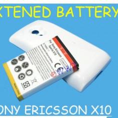 Baterie extinsa + capac spate Sony Ericsson XPERIA X10 expediere gratuita + folie protectie ecran - Capac baterie