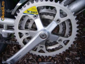 Angrenaj pedalier Shimano Biopace foto