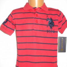 Haine Copii 1 - 3 ani - Tricou original US Polo Assn baieti 3 ani