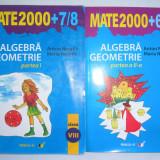Algebra/geometrie, clasa a VIII-a, partea a I-a+partea a II-a - Manual Clasa a V-a