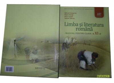 Romana clasa a XI-a editura ART foto