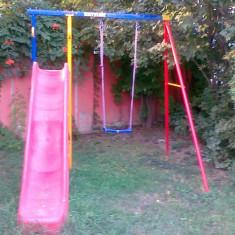 Complex tobogan si leagan KETTLER pentru exterior - Tobogan copii