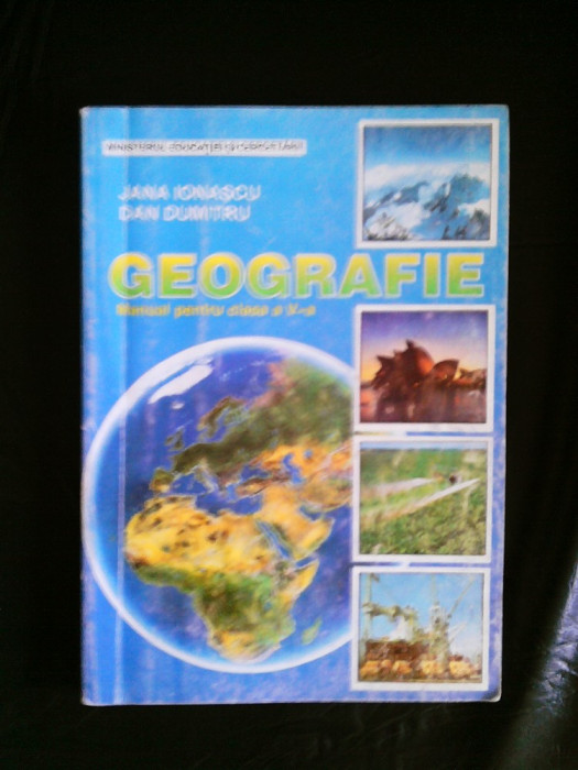 manual de geografie clasa a5a foto mare