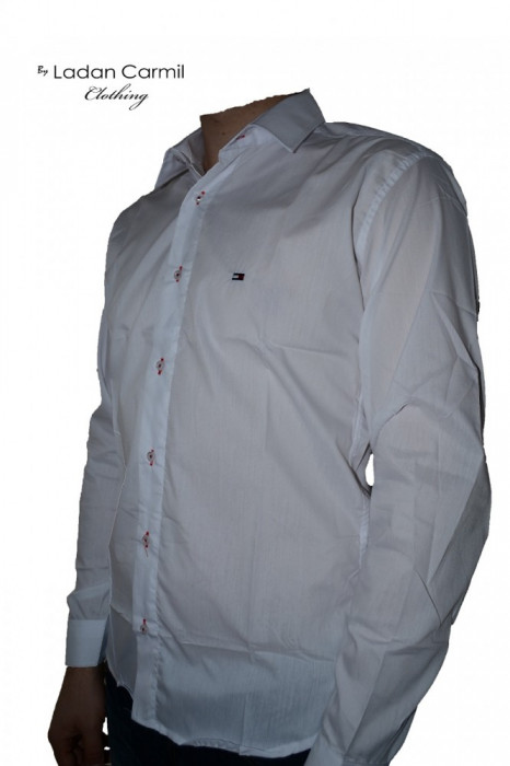 Camasa Barbati (Barbatesca) Casual/Club Replica TOMMY HILFIGER 2012 Model 02 ! CEL MAI MIC PRET DE PE OKAZII ! foto mare