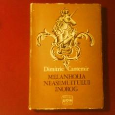 Dimitrie Cantemir Melanholia neasemuitului inorog, ilustratii Florin Creanga - Carte de lux