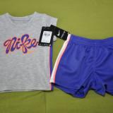 Trening Nike pentru fetite 18 luni, Culoare: Alb