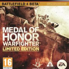 Medal of Honor Warfighter Steelbook Case (pachet), Joc PS3 / PlayStation 3, Nou - Jocuri PS3 Ea Games, Actiune, 16+, Single player