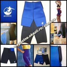 Echipament Fitness, Pantaloni - BERMUDE UNISEX PANTALONI SCURTI NEOPREN SPORT FITNESS AEROBIC SLABIT TRANSPIRAT