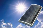 panouri solare pentru aer cald foto