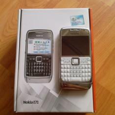 NOKIA E 71 - Telefon mobil Nokia E71, Alb, Neblocat