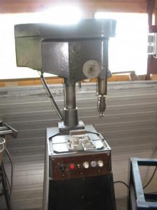 Bormasina de banc foto