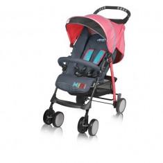 Carucior copii BabyDesign NOU - Carucior copii Sport Baby Design, Pliabil, Roz
