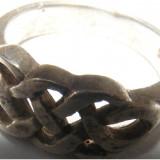 Inel vechi din argint (44) - de colectie