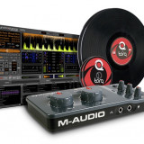 Mixere DJ - M Audio Torq Conectiv with Control Vinyl and CDs