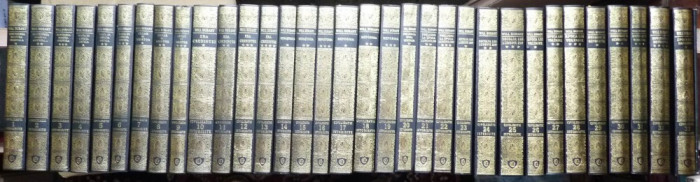 Will Durant , Civilizatii istorisite , 33 volume de lux in legatura deosebita , identica foto mare