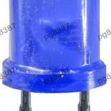 LED albastru 10 mm, rotund, mat, 25 mA-142524 - Bec / LED