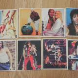 Cartonas de colectie - LOT 11 STICKERE MTV GREATEST HITS TOP BEVERLY HILS. abtibilduri