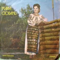 Muzica Populara - MARIA CIOBANU - IN PADUREA DE ARTAR (DISC VINIL)