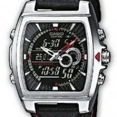 Ceas Barbatesc Casio, Casual, Quartz, Inox, Piele, 100 m / 10 ATM - Casio EFA-120L-1AV ceas barbati nou, la cutie! 100% original Oferta si comenzi ceasuri SUA