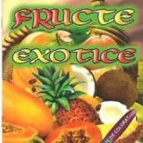 Fructe exotice - Carte de colorat