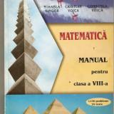 Manual Clasa a VIII-a - MATEMATICA cl.VIII-a