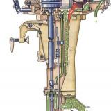 Motor Forelle pentru barca