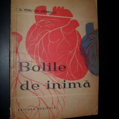 PETRU ION ANDREESCU - BOLILE DE INIMA - Carte Cardiologie