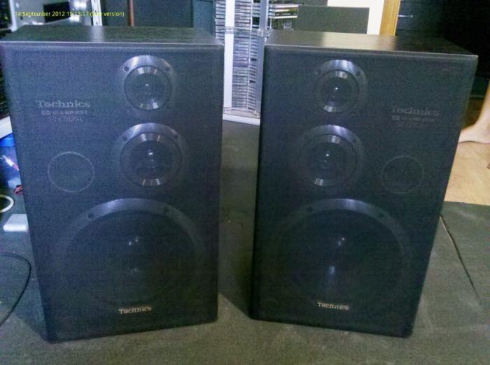 Boxe Technics SB-CD120A ca noi, poze reale foto mare