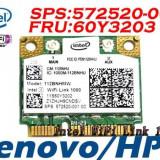 +1794 vand placa de retea wireless Lenovo Thinkpad T510 112BNHMW Fru 60Y3203 Mini Wireless  Intel 1000 112BN HMW Half Mini PCIe