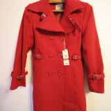 Palton dama Gucci, Rosu, XL - Palton/Trench dama Gucci Exclusive marime XL NOU cu eticheta