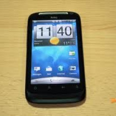 Telefon mobil HTC Desire S, Negru, Neblocat - HTC Desire S Black (Cutie completa, 9, 5/10, functioneaza perfect, card 8gb, liber de retea)