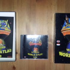 ATLAS GEOGRAFIC - Vectorized World Atlas 1998 - Aplicatie PC