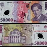 50000 lei 2001 polimer UNC, An: 2001