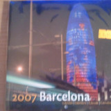 Calendar 2007, Barcelona, sigilat, 5 euro, 20 roni - Calendar colectie
