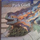 Calendar 2007, Parc Guell, sigilat, 5 euro, 20 roni - Calendar colectie