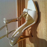 Sandale dama, Marime: 40, Alb - Vand sandale masura 50